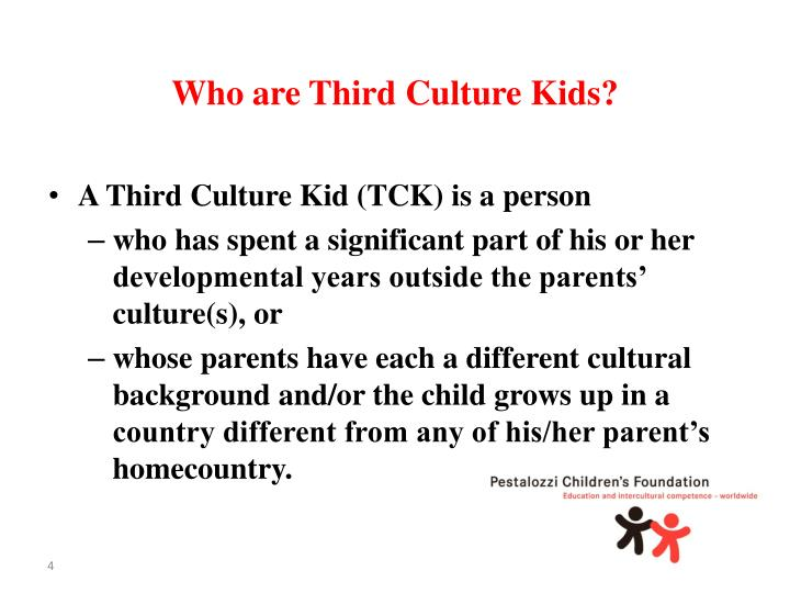 Who are Third Culture Kids?