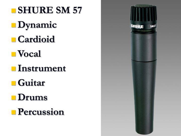 SHURE SM 57