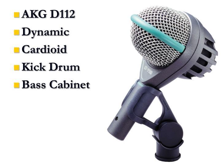 AKG D112