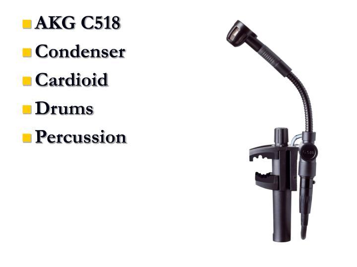 AKG C518