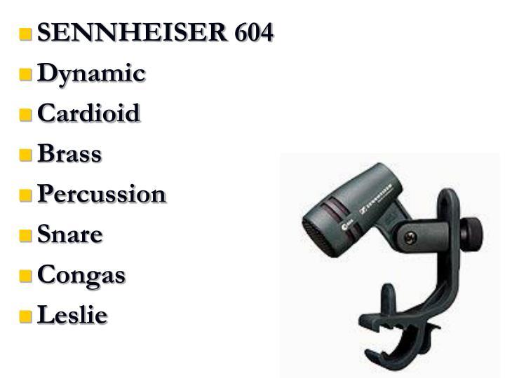 SENNHEISER 604