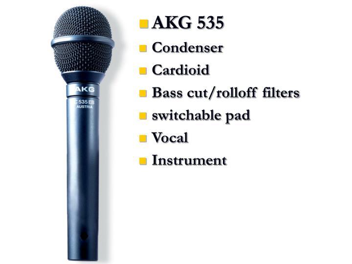 AKG 535