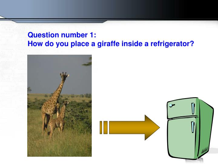 Question number 1: