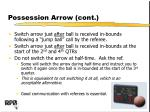 possession arrow cont