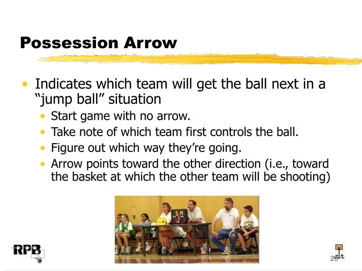 Possession Arrow