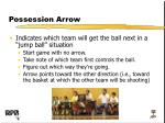 possession arrow
