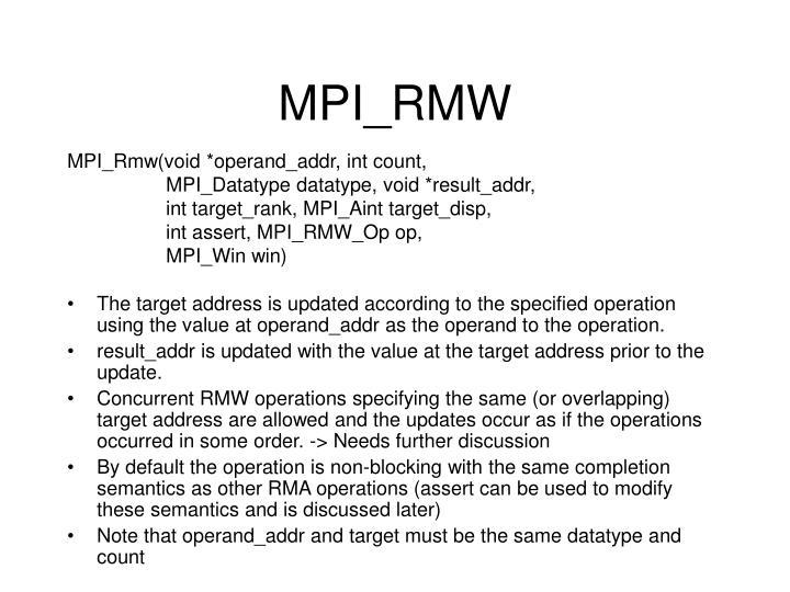 MPI_RMW