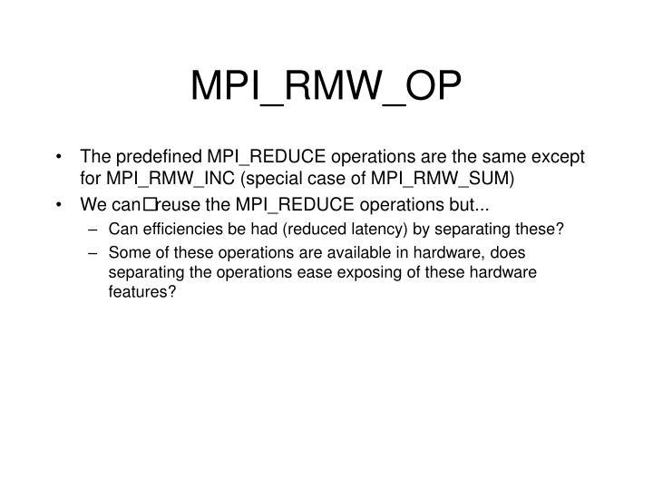 MPI_RMW_OP