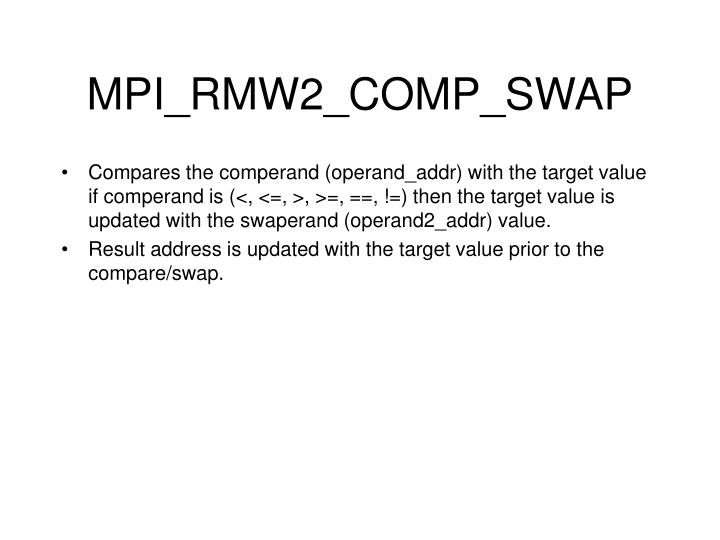 MPI_RMW2_COMP_SWAP