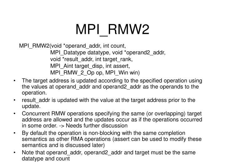 MPI_RMW2