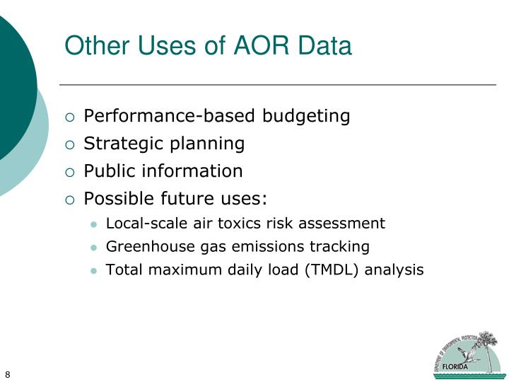 Other Uses of AOR Data