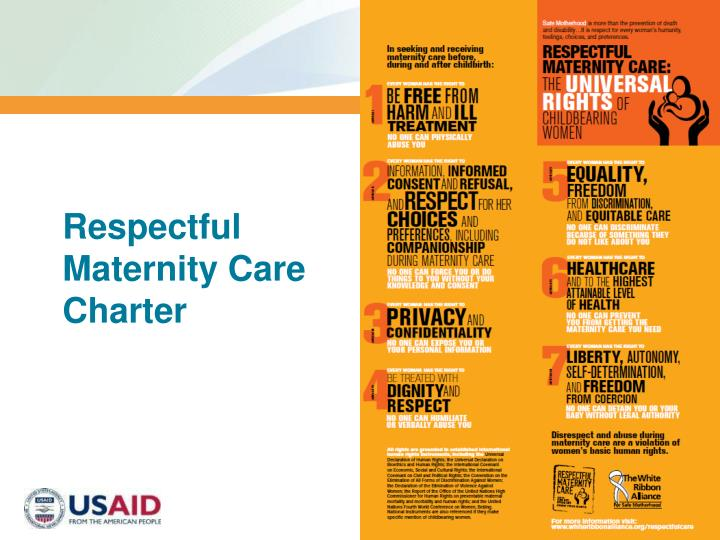 Respectful Maternity Care Charter