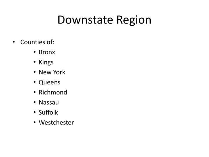 Downstate Region