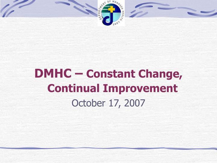 DMHC –
