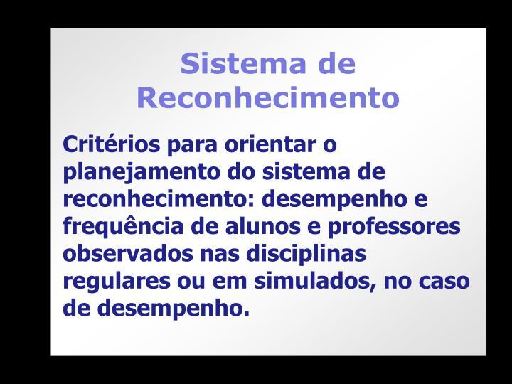 Sistema de Reconhecimento