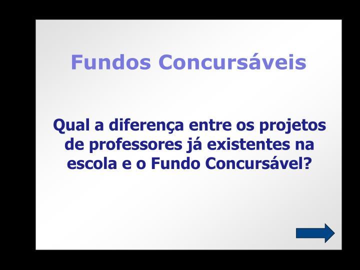 Fundos Concursáveis