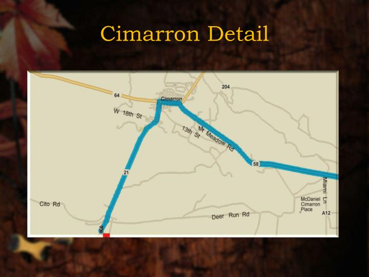 Cimarron Detail