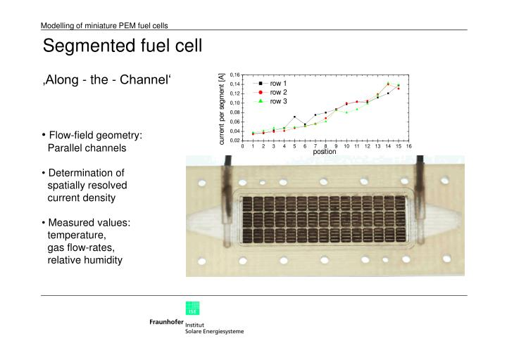 Segmented fuel cell