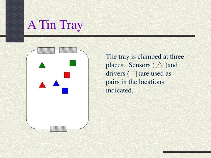 A Tin Tray