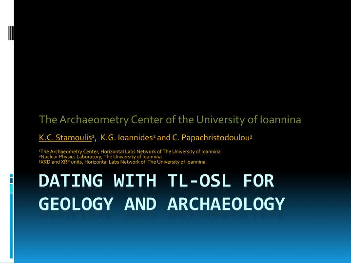 osl dating labs