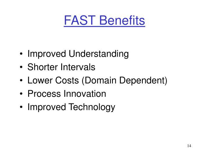 FAST Benefits