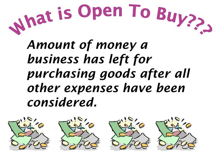 What is Open To Buy???