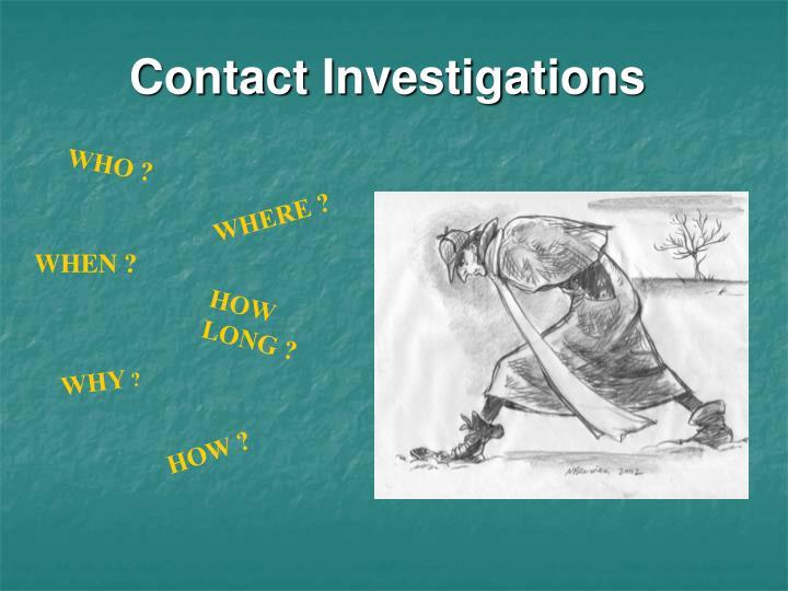 Contact Investigations