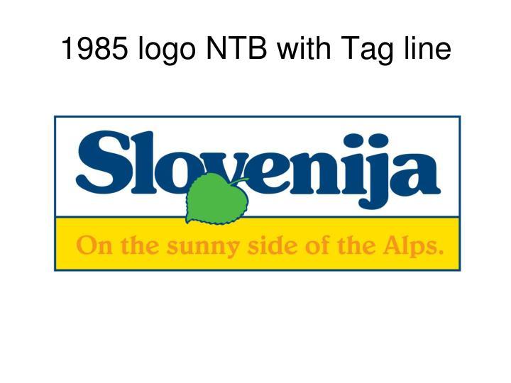 1985 logo NTB
