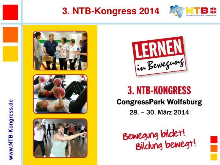 3. NTB-Kongress 2014