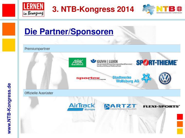 Die Partner/Sponsoren