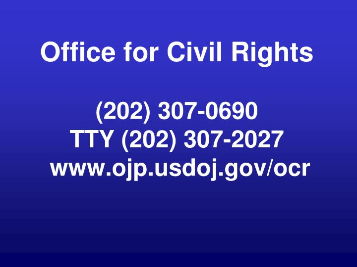 Office for Civil Rights