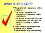 what is an eeop