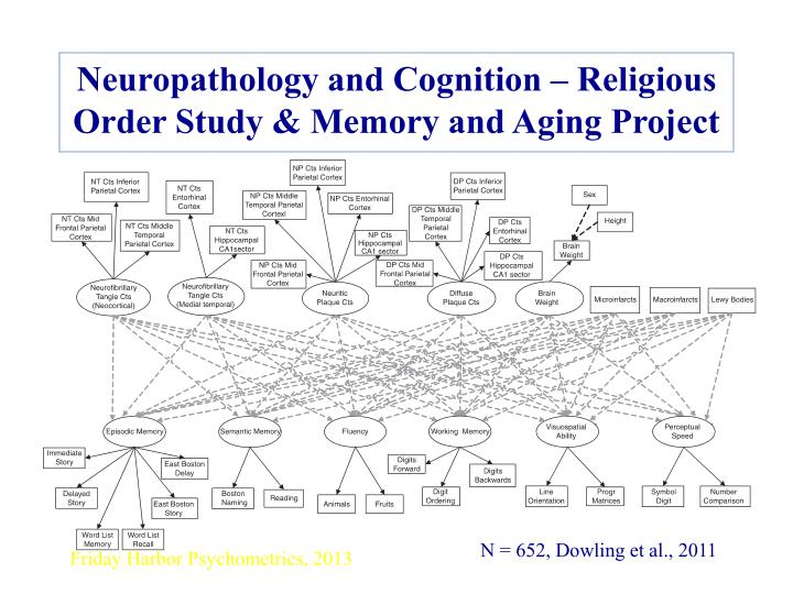 Neuropathology and Cognition – Religious Order Study & Memory and Aging Project