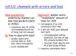 rdt3 0 channels with errors and loss1