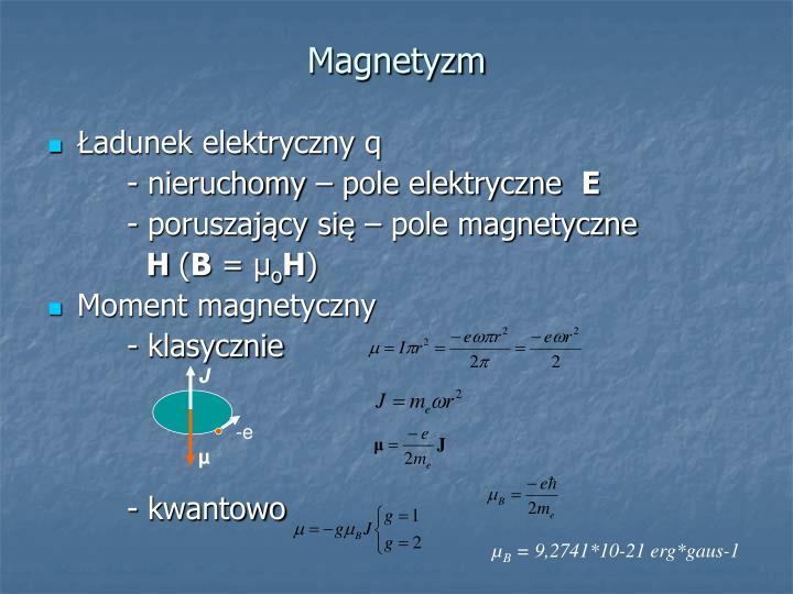 Magnetyzm