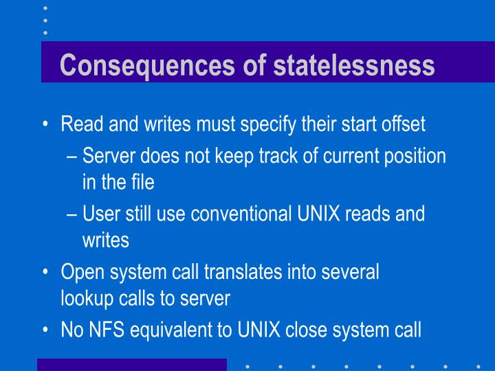 Consequences of statelessness