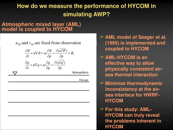 How do we measure the performance of HYCOM in