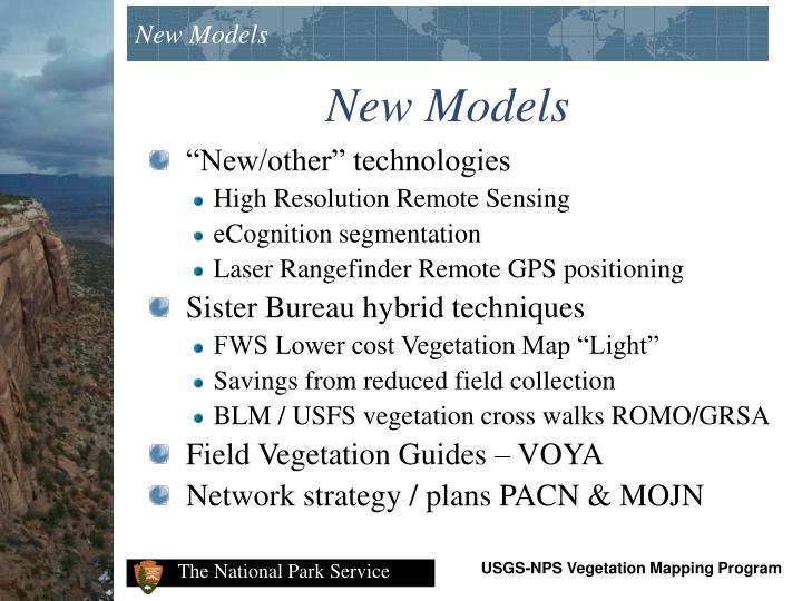 New Models