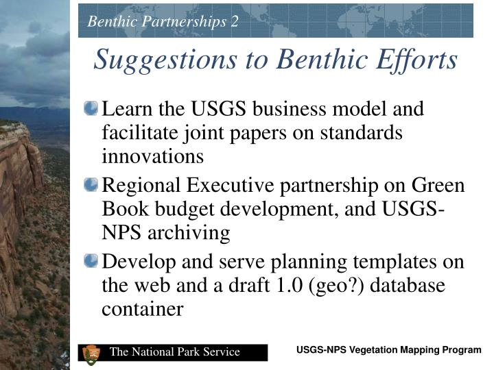 Benthic Partnerships 2