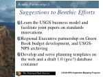 suggestions to benthic efforts1