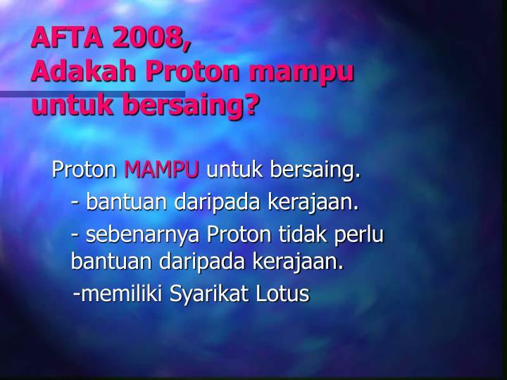 AFTA 2008,