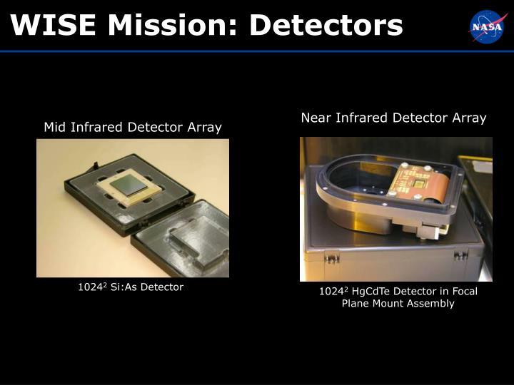 WISE Mission: Detectors