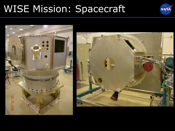 WISE Mission: Spacecraft