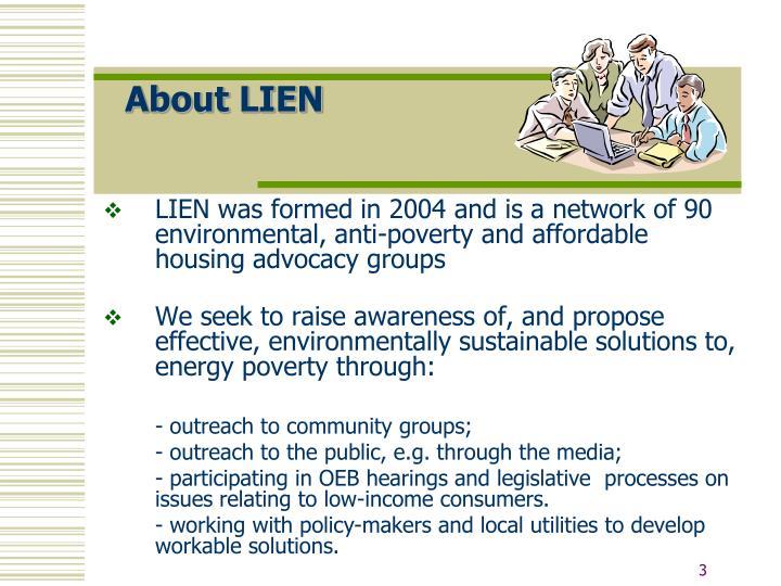About LIEN