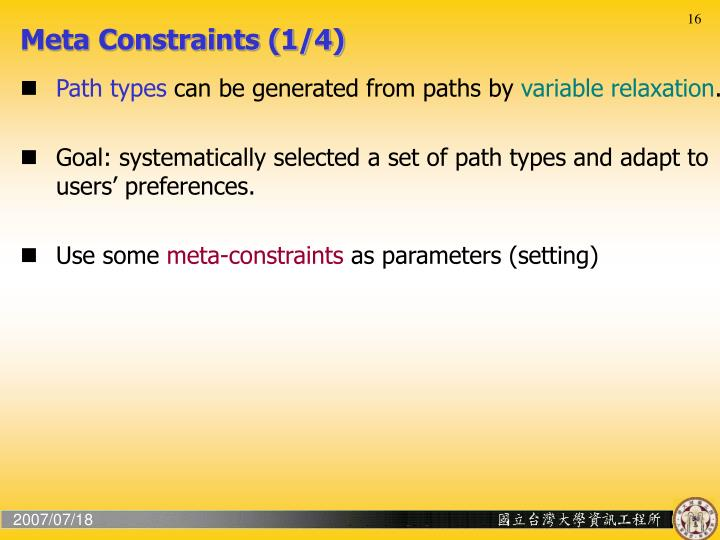 Meta Constraints (1/4)