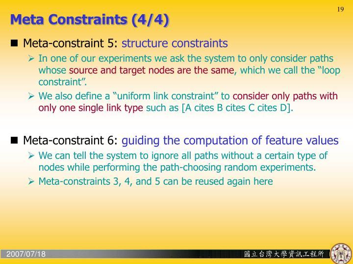 Meta Constraints (4/4)