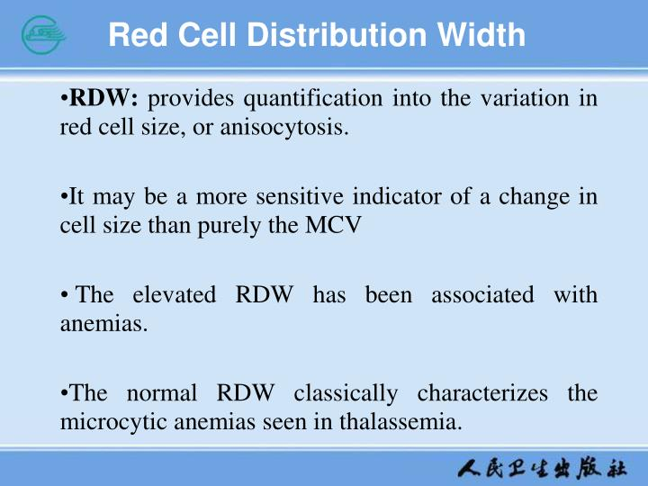 Red Cell Distribution Width