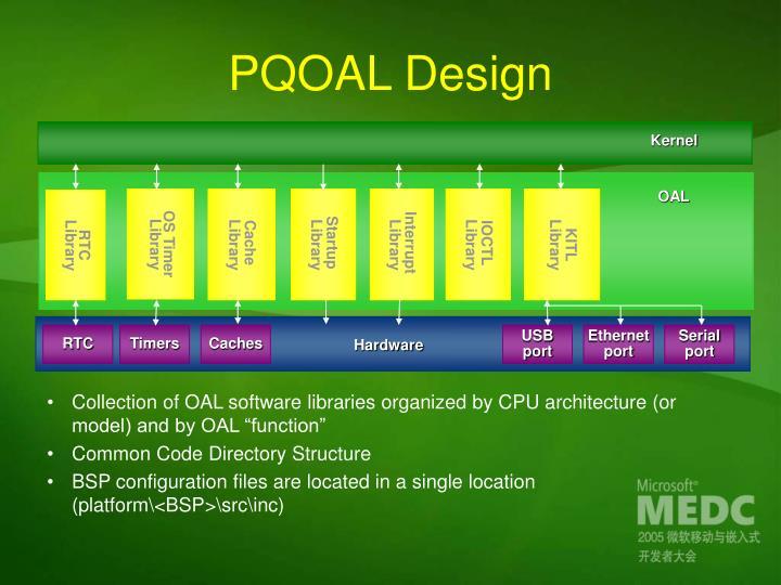 PQOAL Design