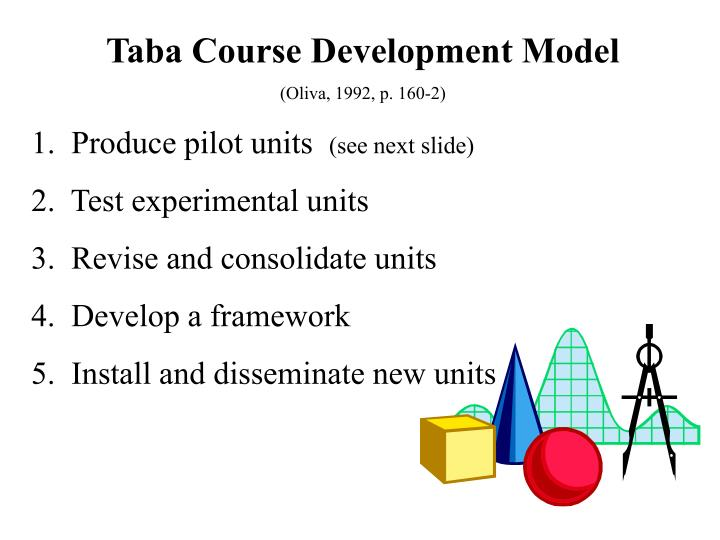 Taba Course Development Model
