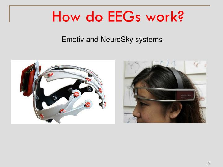 How do EEGs work?